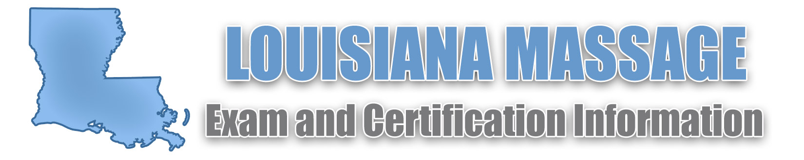 Louisiana Massage Therapy License Board and 2019 Exam Resources
