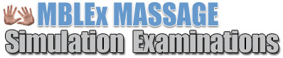 massage exam simulation