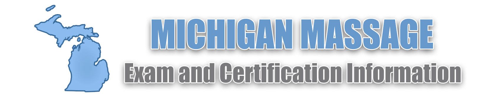 Michigan 2019 Massage Therapy Certification Board Resources