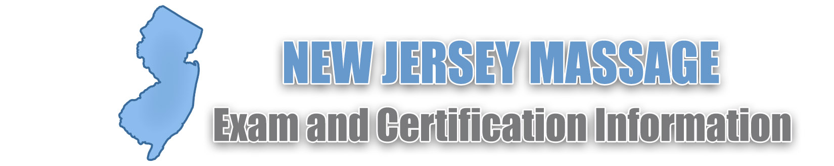 New Jersey 2019 Massage Therapy License and Board Certification