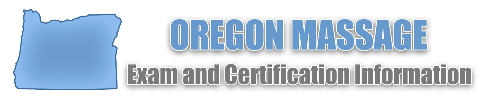 Oregon MBLEX Massage Exam and Certification Information